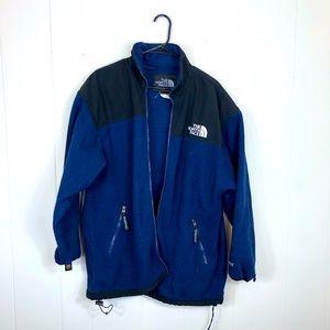 Vintage The North Face Denali Blue Full-Zip Fleece